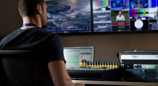 Broadcast engineers operate, monitor and adjust the controls at sound boards and other equipment used in radio and TV
