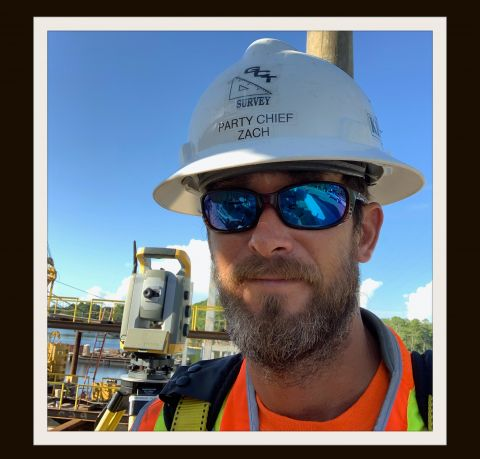 Zachary Clark Gooch, surveying and mapping technician