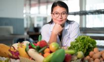A registered dietitian helps people embrace a healthy diet and understand the role of good nutrition